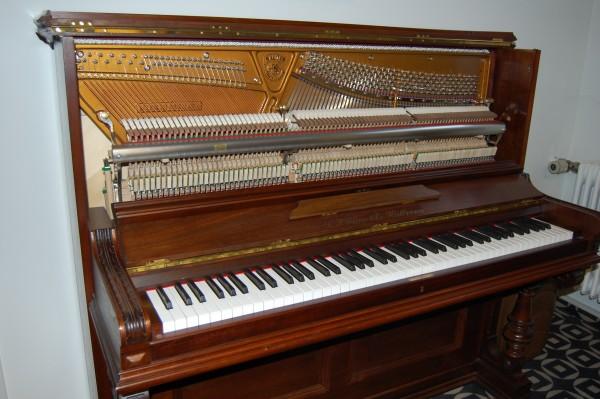 Pianohaus Landt Sauter Klavier Mechanik Neueinbau
