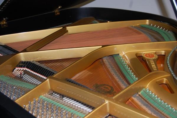 Flügel Schimmel Resonanzboden und akustische Anlage Pianohaus Landt