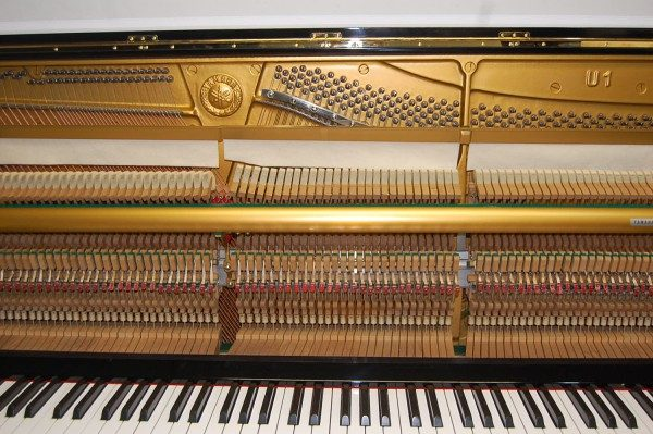 Pianohaus Landt Yamaha U1 Mechanik